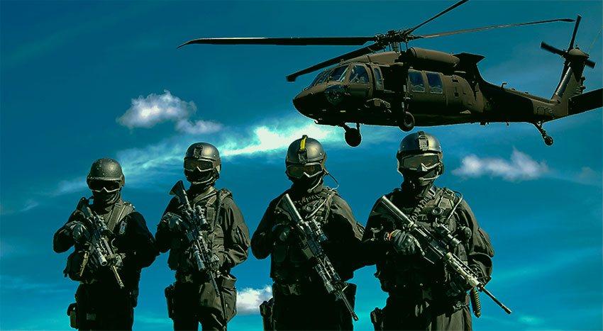 Soldados Swat Misión