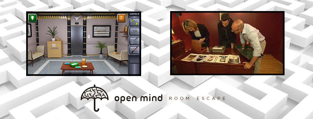 escape room real vs ecape room virtual